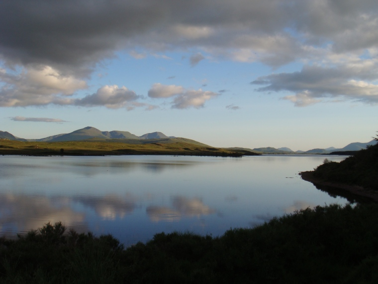 View_over_Loch_Laidon_on_a_fine_summer_evening_-_panoramio